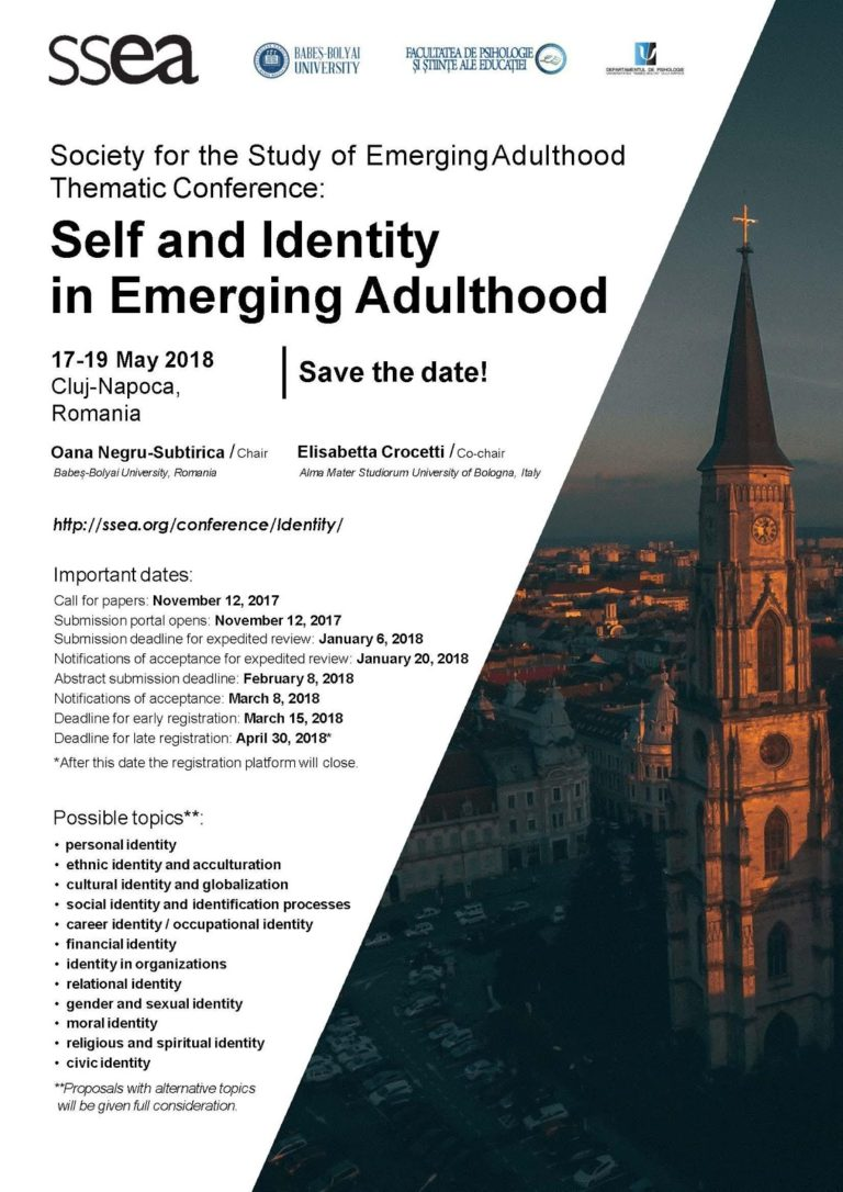 Self and Identity in Emerging Adulthood